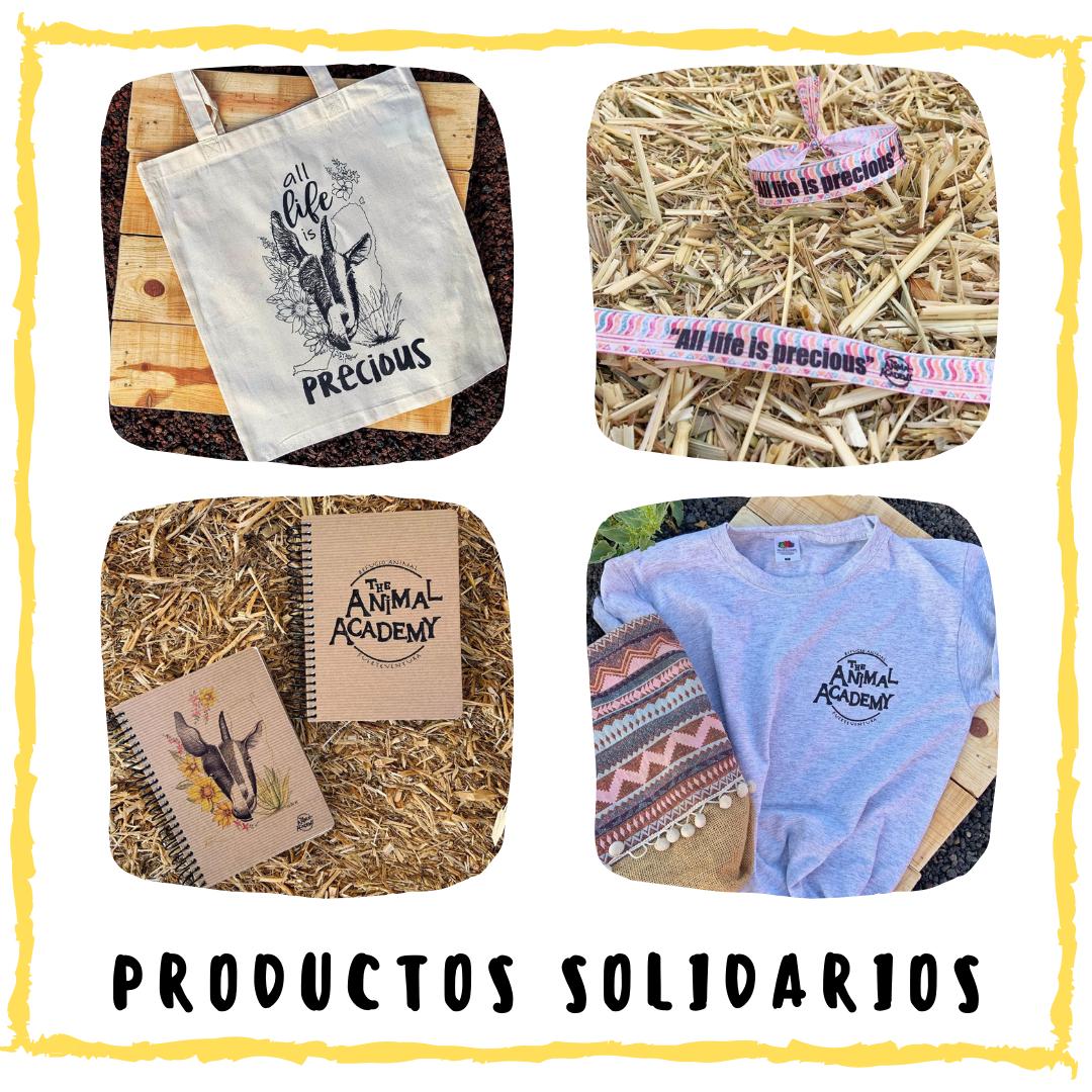 Tienda de productos solidarios The Animal Academy